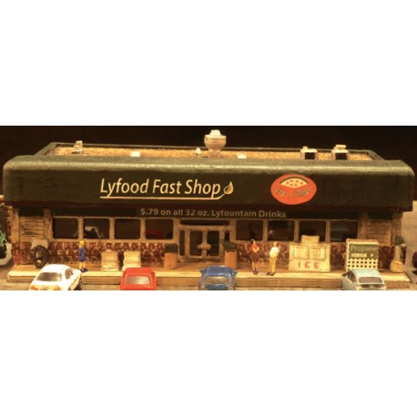 Convenience Store w/Flat Roof