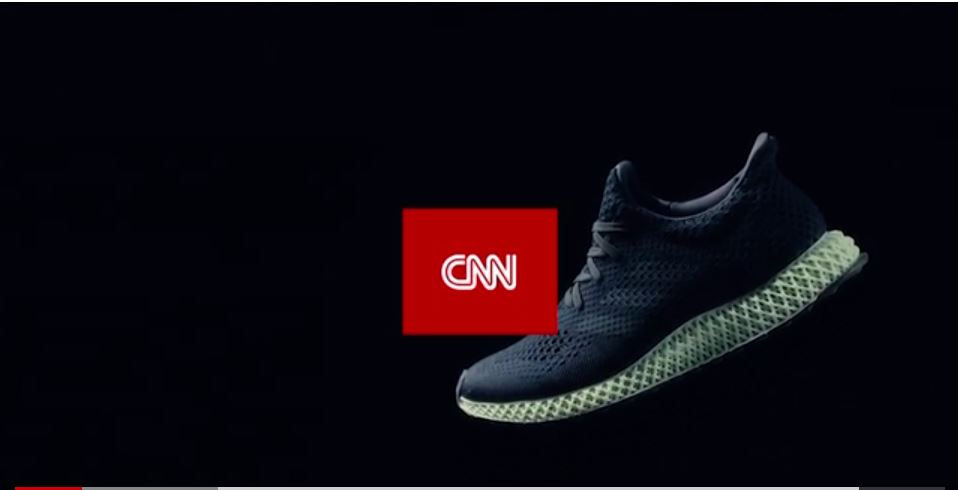 Image of CNN video about 3d printing