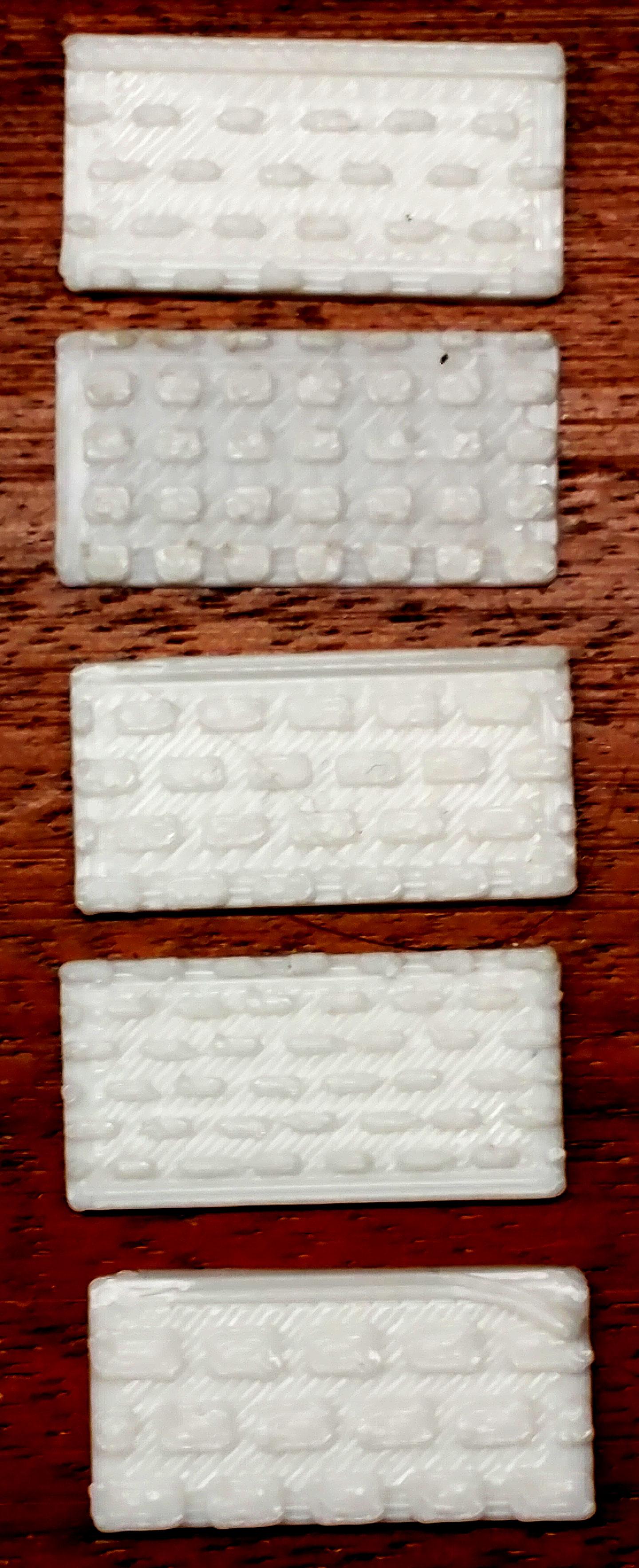 Brick texture samples