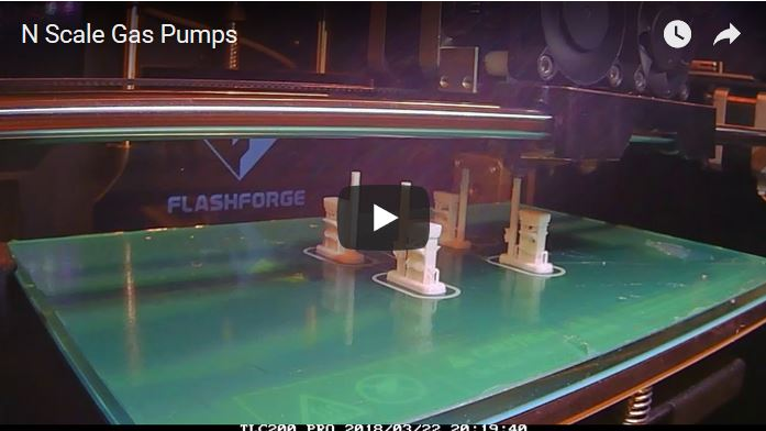 Video of Lyforms Small-Scale gas pumps being 3D printed