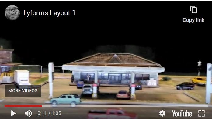 Lyford Layout Video Shoot