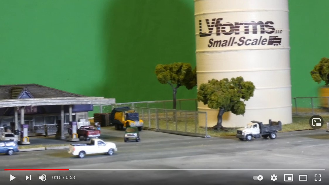 Screen shot of Lyforms Small-Scale micro layout video part 4!