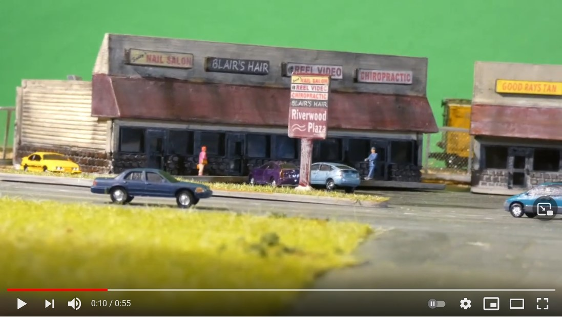 Screen shot from video of Lyford micro layout!
