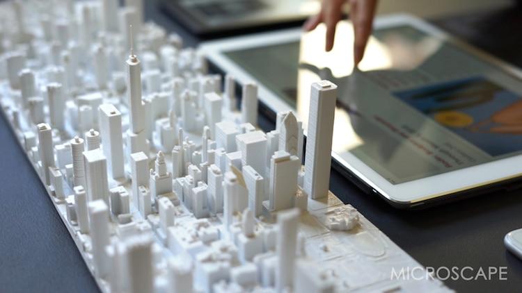 Microscape city block
