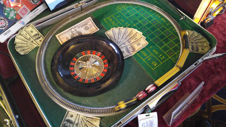 Roulette wheel layout