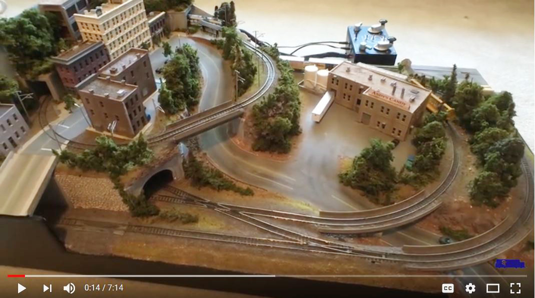 Micro layout from Steve's Trains