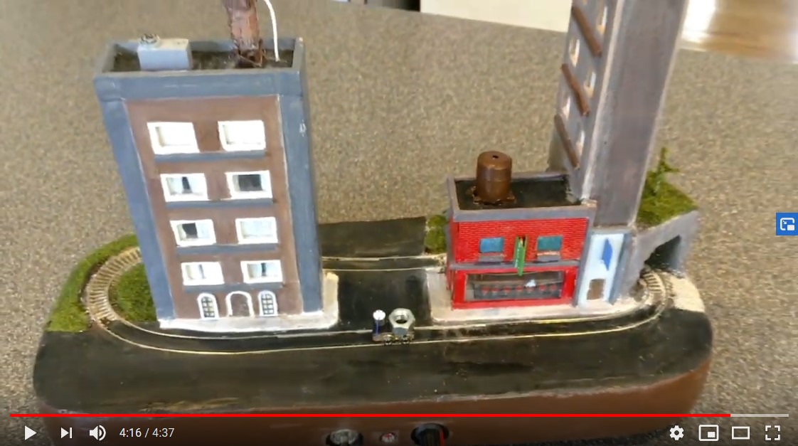 Tiny micro layout video screen shot